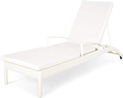 Sol 72 Outdoor Kamer Reclining Sun Lounger with Cushion