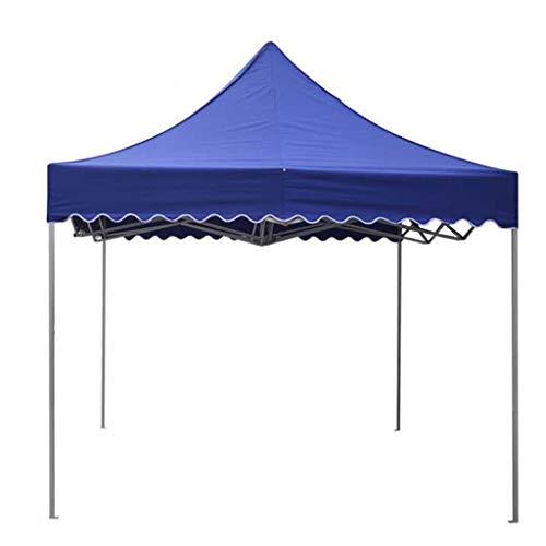ZAQI Strandzelt strandmuschel wurfzelt Kommerzielles Überdachungszelt, wasserdichte Hochleistungs-Pop-Up-Zelte für Hinterhof-Strand im Freien, rotes Blau, 2M × 2M (Color : Blue)