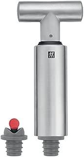 J.A. Henckels International 3-pc Stainless Steel Wine Vacuum Pump & Stopper Set