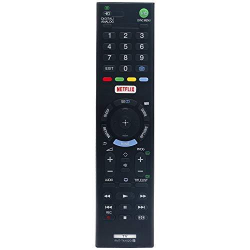 VINABTY RMT-TX102D Ersatz Fernbedienung für Sony KDL-48R550C KDL-40R453C KDL-49WD751BU KDL-48R553C KDL-32R403C KDL-32WD757 KDL-32R403CBU 32WD60 40WD653BU 43WD75 48WD653BU RMTTX102D Smart LED TV