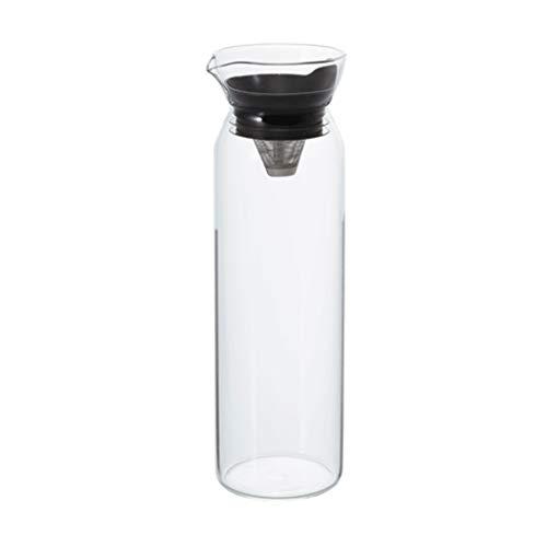 Koffie en Thee Karaf Glazen Bubble Theepot Explosiebestendige Verwarming Juice Pot Thuis Koel Water Fles Met Deksel Filter Fruit Theepot 900ml