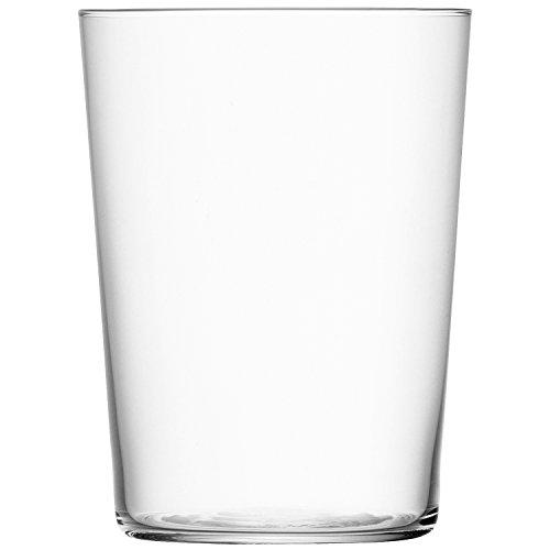 LSA International GIO tamaño Grande Vaso, Transparente, Transparente, 560 ml