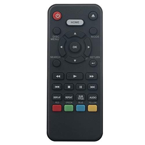 Replacement Remote Control Applicable for Sanyo DVD Player FWBP505F FWBP505FK FWBP505FP FWBP505FP FWBP505FN FWBP506FF FWBP505FQ FWBP505FN FWBP505F FWBP506FF FWBP507FF FWBP505FK