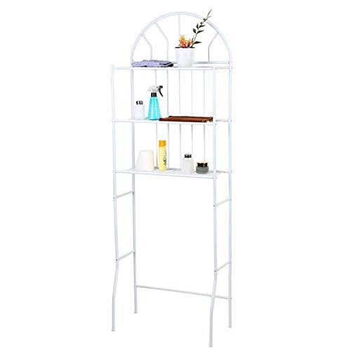 Estante para inodoro de 3 niveles sobre el inodoro, estante de almacenamiento para baño, ahorro de espacio