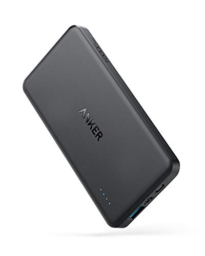 Anker Batería Externa PowerCore II Slim 10000mAh Ultra Thin Powerbank para iPhone X 8 8Plus 7 6s 6 Plus, iPad, Samsung Galaxy y Otros Dispositivos