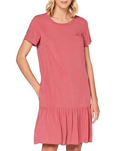 Marc O´Polo Denim Damen 046103821153 Kleid, Rosa (BlackBerry Sorbet 650), Medium (Herstellergröße: M)