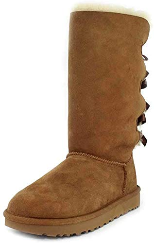 UGG, Bailey Bow Tall II Women's, Chestnut, 40 EU