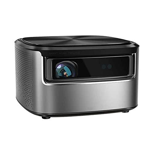ZSCC Proyectores de video, 360 & deg; Proyector, campo lejano Al Voice 1250ANSI Alto brillo 1080P Full HD Soporte HDR10 Fuerte disipación de calor Adecuado para el dormitorio de la sala de estar de la
