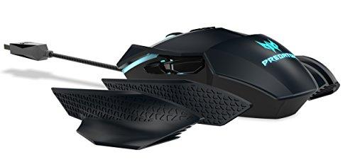 Acer Predator Cestus 500 USB Óptico 7200DPI Ambidextro Negro