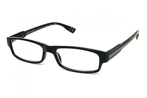 FG Essentials Foster Grant Porter Reading Glasses Strength Plus 3.00, Shiny...