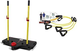 60uP Balance Board Program- as seen on TV -Bob Eubanks. Trains 3 Vital Elements of Balance: Body Strength, Body Alignment ...