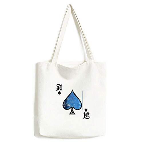 Ocean Fish Tauchen Wissenschaft Natur Bild Handtasche Craft Poker Spaten waschbare Tasche