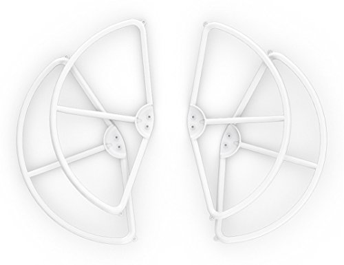DJI DJIP2PRG Propellerschutz (4er Satz) für Phantom 2 Vision/Vision+ UAV Aerial Quadrocopter Drohne weiß