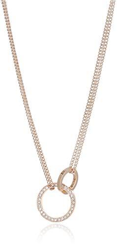 Tommy Hilfiger Dressed Up Damen Halskette Edelstahl Rosévergoldet 45,7 cm
