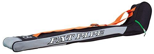 Fat Pipe Floorball Schlägertasche grün/orange/schwarz für Schläger bis 104 cm
