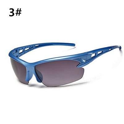 WZXCAP Gafas Ciclismo MTB Hombres Mujeres UV400 de los vidrios for Las Bicicletas de Ciclismo Ciclista Gafas Oculos Ciclismo Gafas de Deporte Gafas de Sol de la Bici (Color : 3)