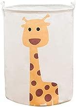 "MasterChinese Large Rolling Laundry Hamper-17"" Collapsible Laundry Basket Toy Storage (Giraffe)"