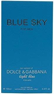 BLUE SKY, 3.4 fl.oz. Eau De Parfum Spray for Men, Perfect Gift
