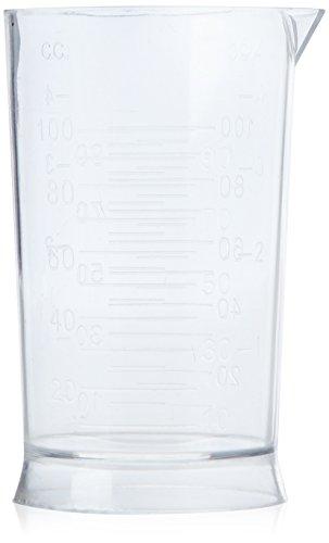 Efalock Professional Messbecher, 100 ml, 1er Pack, (1x 1 Stück)
