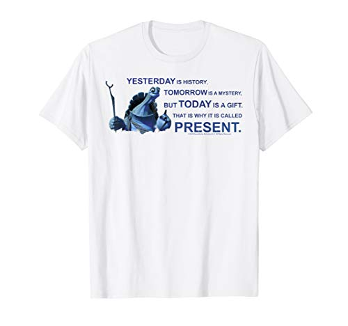 Kung Fu Panda Oogway Quote Portrait T-Shirt