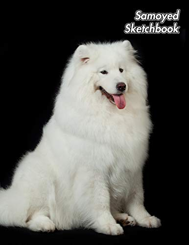 Samoyed Sketchbook: Sammy | Unlined Notebook 150 Blank Pages 8.5 x 11 in. | Sketchbook | Multi-Purpose | Unruled Journal | Plain Diary | Agenda | Composition Book | Drawing Book