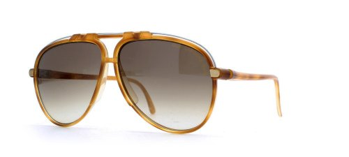 chavo Laroche 51299Marrón auténticos hombres-Mujeres clásico anteojos de sol