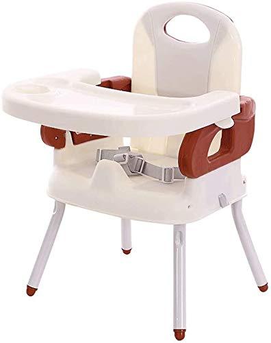 Trona, silla plegable multifunción portátil de mesa sillas infantiles regulación 3 modos,A