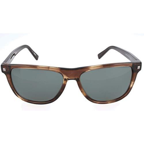 Ermenegildo Zegna Sonnenbrille EZ0074 Occhiali da sole, Marrone (Brown), 57.0 Uomo