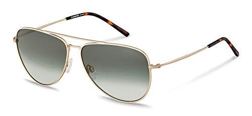 Rodenstock Herren Pilotenbrille R1425, leichte Sonnenbrille im Retro-Look mit Edelstahlgestell