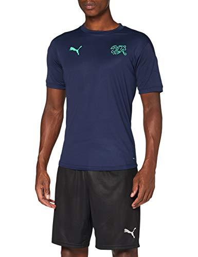 PUMA Sfv Training Jersey Camiseta, Hombre, Peacoat-Green Glimmer, XL