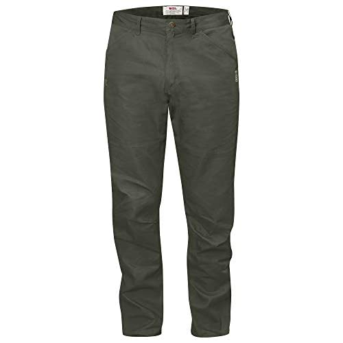 Fjallraven High Coast Trousers, Pantaloni Uomo, Mountain Grey, 50