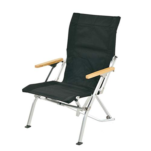 Outdoors Folding Chair - Bar Height Director Chair for Camping, Home Patio and Sports - Portable and Collapsible with Footrest and Carrying Bag - Up to 300 lbs Weight Capacity