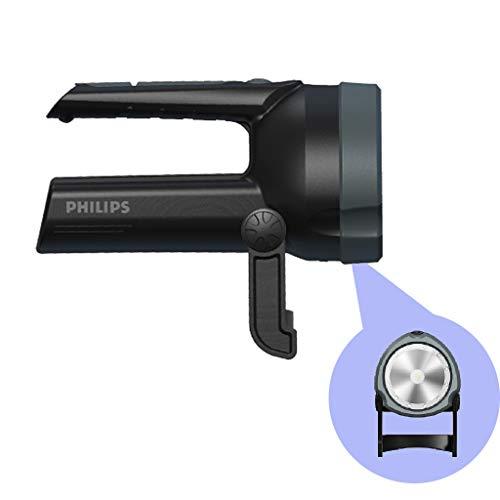 Linternas Llor de búsqueda portátil, luz Fuerte súper Brillante de Tiro de Larga Distancia, LED, Fallo de alimentación Recargable Luz de Emergencia (Color : Black, Size : 800LM/3000mAh)