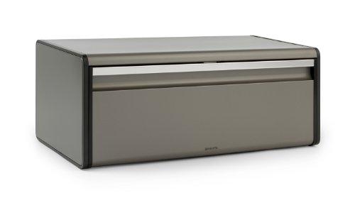 Brabantia 299384 Boîte à pain couvercle abattant Platinum