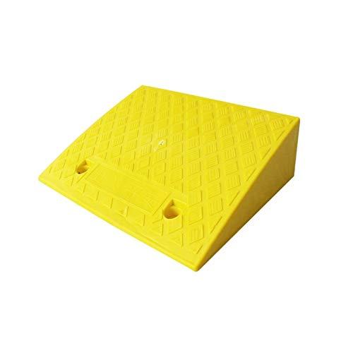 Rampasas Para Bordillos Para Sillas De Ruedas, Rampasas Para Andar En Patineta Rampasas Para Sillas De Ruedas Eléctricas Para Escalones / Carreteras Rampasas Para B(Size:50*38*15CM,Color:Amarillo)