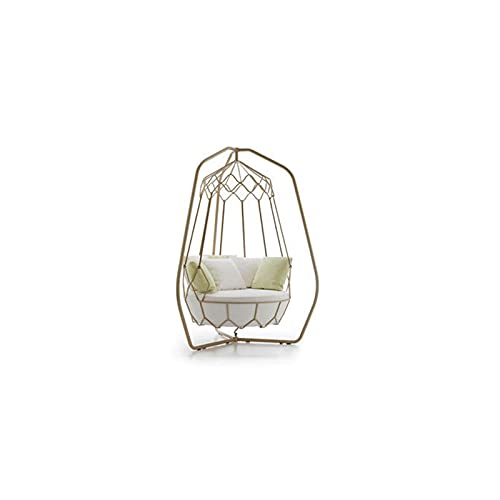 DEALBUHK Outdoor Bird's Nest Silla Colgando Silla Paisaje Cesta Colgante Balcón Hamaca Hamaca de Interior Cuna Diseñador Swing Creativo Adecuado para Parques Infantiles, Jardines B