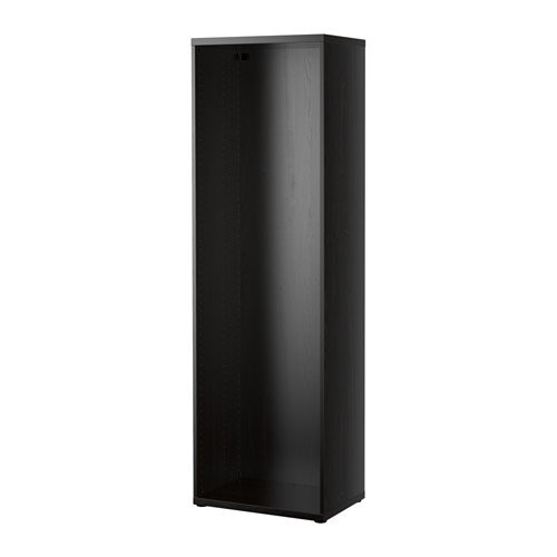 IKEA BESTA fotolijst, zwart/bruin