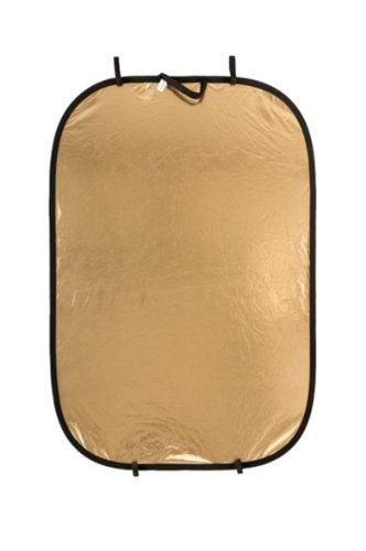 Manfrotto LLLR7241 - Panelite, 125 x 180 cm, Oro/Blanco