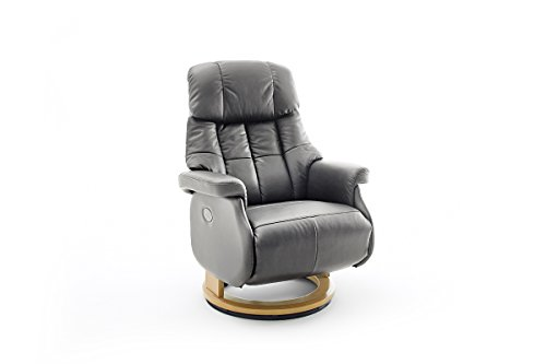 Robas Lund, Sessel, Relaxsessel, Calgary Comfort XL, Leder/schlamm, 86 x 82 x 111 cm, 64037TN5