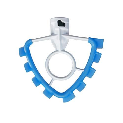 SideSwipe Flexible Silikon-Kantenschlägel-Aufsatz für KitchenAid 4,5-5 Qt Kippkopf Standmixer, blau