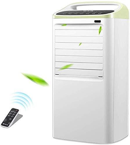 XYSQWZ Condizionatore Portatile a Doppio Tubo, Ventilatore Portatile per Aria Condizionata, Timer 15H, Singola velocità del Vento Freddo 3 Telecomando 85W