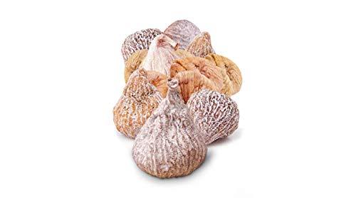 Getrocknete Premium Feigen aus Spanien im 3kg Beutel - 100 % Natur - Sonnengereift, handverlesen, Superfood, Glutenfrei, Vegan & unbehandelt