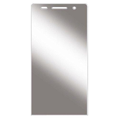 Hama Bildschirmschutzfolie für Huawei Ascend P6, 2er Set, einfache Anbringung, Ultra-HD Qualität, passexakter Präzisions-Laser-Cut, inkl. antistatischem Mikrofasertuch