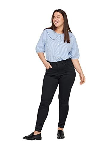 Zizzi Damen Große Größen Amy Jeans Hohe Taille Slim Gr 48/78 cm