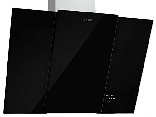 Gorenje DVG 8565 X Dunstabzugshaube / Kaminhaube / 80 cm / Power Boost Leistungsstufe / schwarz