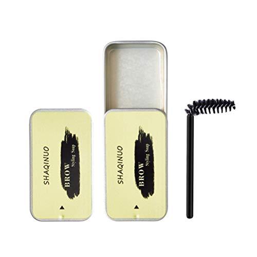Eastleader Kit de Peinado de Cejas Gel de Peinado de Cejas a Prueba de Agua Estilo de Cejas con Cepillo de Cejas para Mujeres y niñas Estilo de Cejas