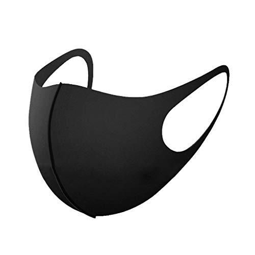 Yowablo 𝐌𝐮𝐧𝐝𝐬𝐜𝐡𝐮𝐭𝐳 Erwachsene Weihnachten/Halloween/Erntedankfest Black Friday Dreidimensionaler Schutz Health Cycling Mouth Face (4pc,1V)