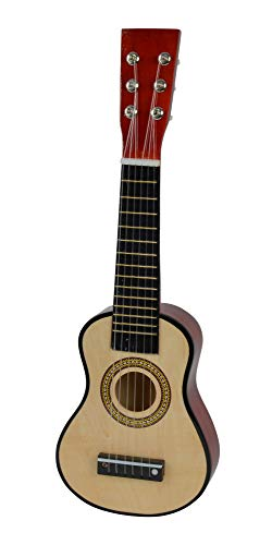 Simba 106833108 - My Music World Holzgitarre 51 cm, 3-sort.