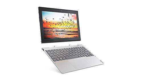 Lenovo Miix 320 25,7 cm (10,1 Zoll HD IPS Touch) Convertible Tablet-PC (Intel Atom Z8350, 4 RAM, 64 eMMC, LTE, Windows 10 Home) silber (Generalüberholt)