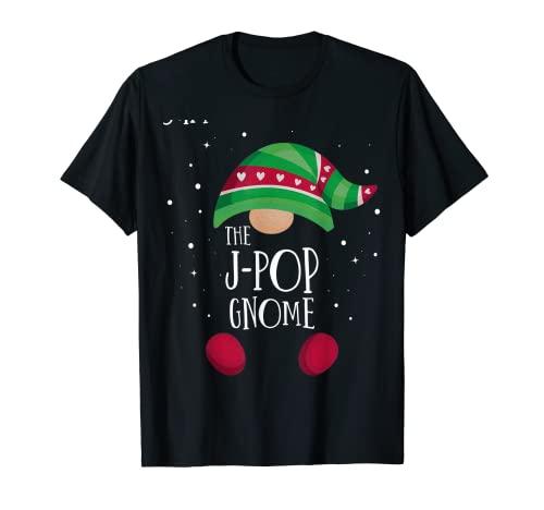Pijama de Navidad a juego con el Gnomo J-Pop Camiseta